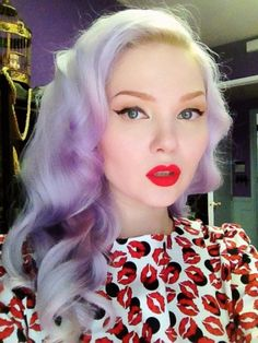 Lime Crime Velvetines lipstick in Suedeberry worn by Doe Deere