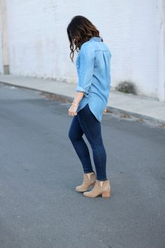 With Style & Grace   How to Wear Denim on Denim