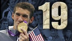 Congratulations to Michael Phelps for breaking the record of most Olympic medals won by an athlete.