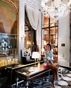 Luiza Sobral Le Meurice Hotel Paris