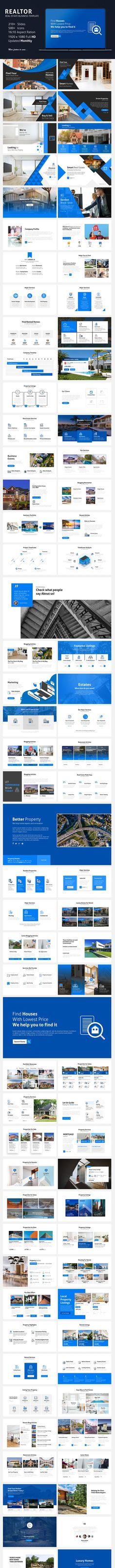 Buy Realtor - Real Estate Business Template by afomindia on GraphicRiver.