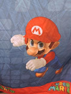 Mario Nintendo Character Two Panel Collectible Curtain Drape Nintendo Characters, Decorate Your Room, Baby Room Decor, Drapes Curtains, Home Decor Items, Gifts For Him, Cool Stuff, Stuff To Buy, Mario