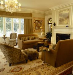 Living Room - traditional - living room - new york - by Robin Muto