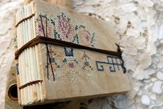 By The Sea  Hand Bound Journal Vintage by bibliographica on Etsy, $115.00