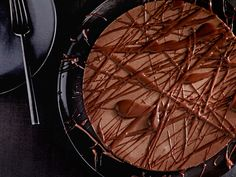 Nigella's Chocolate Cheesecake recipe for Valentine's Day from #FNMag