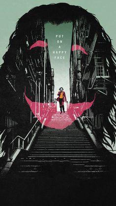 Joker Poster Art iPhone Wallpaper - Best of Wallpapers for Andriod and ios Le Joker Batman, The Joker, Joker Art, Joker And Harley, Gotham Batman, Batman Art, Batman Robin, 1440x2560 Wallpaper, Joker Iphone Wallpaper
