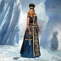 This is the Mindy Kaling Barbie for the new movie, Wrinkle in Time.