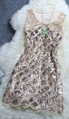 Party sequin dress