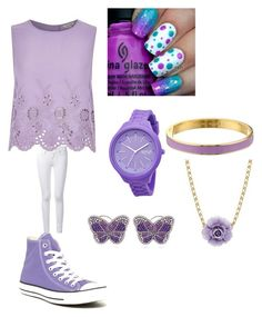 """""""For all the purple lovers#purple is life"""" by kisslovegaby on Polyvore"""