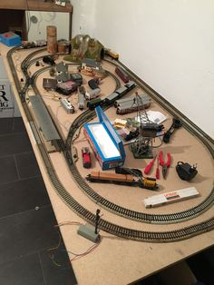 New track layout.