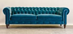 fabric chesterfield