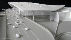 Scale Model Architecture, Library Architecture, Architecture Design, Tree Structure, Architectural Scale, Airport Design, Building Facade, Roof Design, Arquitetura