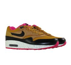 Nike WMNS Air Max 1 Gold Suede Black