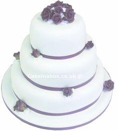 The Roma Wedding Cake