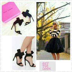 "Betsey Johnson Frisky Bow Heels One things for certain; this bow's fo' show! The Betsey Johnson Friskyy Black Suede Leather High Heel Sandals top a genuine suede single strap upper with an oversized bow at the ankle that's flashy and fun. 3.25"" heel zipper. 4.25"" sculpted heel completes this unique design. Cushioned insole. Rubber sole has nonskid markings. . Leather upper and lining.  Firm unless bundled Betsey Johnson Shoes Heels"