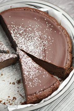 Easy Flourless Chocolate Cake (Favorite Family Recipes)