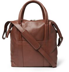 af956e7cf0f Maison Martin Margiela Leather Tote Bag   MR PORTER Brown Leather Totes,  Leather Bags,