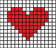 DIY Cross-Stitched Card - Picture of Simple Cross-Stitch Patterns Picture of Simple Cross-Stitch Patterns Picture of Simple C - Tiny Cross Stitch, Easy Cross Stitch Patterns, Cross Stitch Heart, Simple Cross Stitch, Cross Stitch Cards, Cross Stitch Designs, Cross Stitching, Cross Stitch Embroidery, Embroidery Patterns