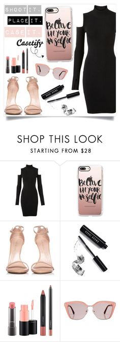 """Be your own inspiration ... Casetify #15"" by suljic-melika ❤ liked on Polyvore featuring Versus, Casetify, Stuart Weitzman, Bobbi Brown Cosmetics, MAC Cosmetics and Prada"