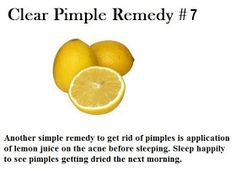 Clear Pimple Remedy 101