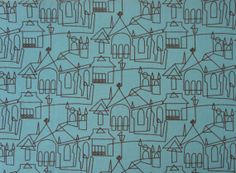 Victoria and Albert Museum London  City Houses by FabricPDX, $10.00