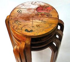 Distressed Wooden Furniture