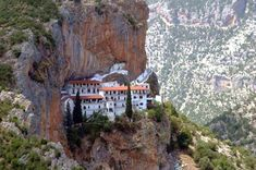 The Greek Orthodox monastery of Elona The Holy Mountain, Forest Mountain, Dissolution Of The Monasteries, Wild Flower Meadow, Episcopal Church, The Monks, 11th Century, Roman Catholic, World Heritage Sites