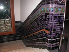 You don't see tiling like this very often!