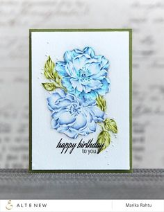 Beautiful Day Stamp Set - Altenew  - 10