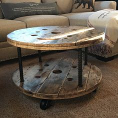 Wood Spool Tables, Cable Spool Tables, Wooden Cable Spools, Cable Spool Ideas, Reclaimed Wood Tables, Cable Reel Table, Wooden Cable Reel, Wire Spool, Reclaimed Wood Projects