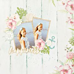 Kaisercraft Island Escape Layouts - Results For Yahoo Image Search Results Cruise Scrapbook Pages, Beach Scrapbook Layouts, Travel Scrapbook, Scrapbooking Layouts, Scrapbook Cards, Step Cards, Card Maker, Baby Crafts, Mini Albums