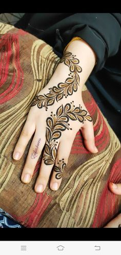 Full Mehndi Designs, Henna Designs Feet, Arabic Henna Designs, Beginner Henna Designs, Mehndi Design Photos, Mehndi Designs For Fingers, Mehndi Images, Bridal Mehndi Designs, Simple Henna Tattoo