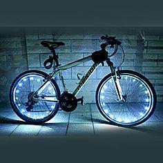 Pyöräilyvalot / pyörän valot LED Pyöräily Vedenkestävä AA Lumenia Patteri Pyöräily-FJQXZ®