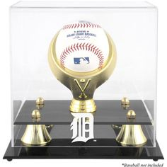 Detroit Tigers Fanatics Authentic Golden Classic Single Baseball Logo Display Case - $39.99