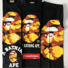 baf6d106365 Bape tees for the Fall Which design would you wear   primeorders  hypebeast