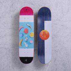 "D.O.C.<br/>8.125"" - Pink quasi skateboards  #skate #skateboard #skatedeck"