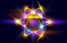 Atom | Jede Materieform entsteht aus Schöpfungs-Impulsen und sich verdichtender Energie. Die Photonen sind dabei die Informations- und Energieträger auf allen Ebenen des physischen Seins. Photonen erhalten ihre Energie durch Transformation aus den Neutrinos und anderen feinstofflichen Energien. Neutrinos sind kleine, überwiegend masselose Elementarteilchen, die elektrisch neutral geladen sind und ihren Ursprung als Energieträger im Kosmos, also der Quelle allen Seins, haben. #Atome