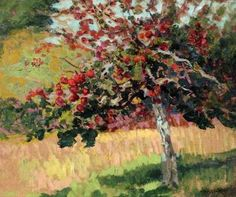 The Red Appels ~  Victor Charreton ~ (French, 1864-1936)