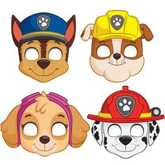 Paw Patrol party supplies in stock pawpatrolparty pawpatrol happybirthday birthdayparty plates cup banner masks backdrop doorposter tablecloth getyourstoday mobay stjames islandwidedelivery Paw Patrol Masks, Sky Paw Patrol, Paw Patrol Party, Paw Patrol Everest, Paw Patrol Invitations, Party Invitations, Party Favors