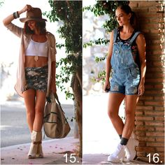 See my August outfits and chose your favorite.