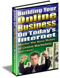 Building Your Business On Today's Internet