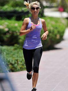 Julianne Hough Celebrity Fitness Tips - February 2013