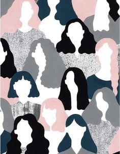 Illustration for Double Dot Magazine by Alessandra Genualdo Art And Illustration, Inspiration Art, Art Inspo, Pop Art, Poster S, Grafik Design, Art Design, Wallpaper Backgrounds, Wallpapers
