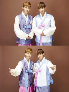 TVXQ in Korean traditional costume, hanbok @tvxq @hanbok