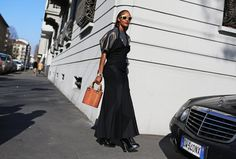 Michelle Elie - Balenciaga shirt,Comme des Garçons dress