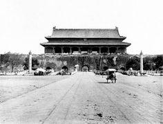 清末民初的北京 天安门