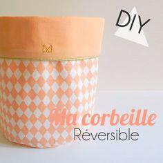 DIY- Ma corbeille réversible proposé par Arrow Workshop et Muchaboom