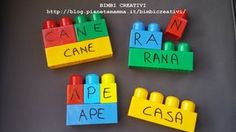 Come riciclare i Mattoncini - Bimbi Creativi How to recycle bricks Children grow and their needs change, especially in terms of toys. Each toy is suitable for a certain age and it is right to respect Senses Activities, Name Activities, Montessori Activities, Science Activities, Activities For Kids, Recycled Brick, Pre Writing, Creative Kids, Toys For Boys