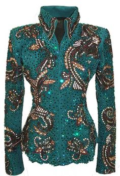 I don't show horses but I love, these show jackets Western Show Shirts, Western Show Clothes, Horse Show Clothes, Western Outfits, Horse Clothing, Rodeo Outfits, Equestrian Outfit, Showmanship Jacket, Paul Gaultier Spring