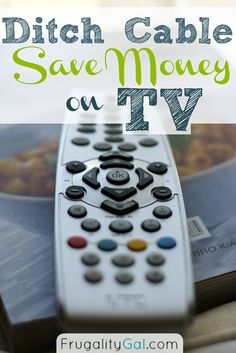 Ditch your cable bill and save money on TV while still watching most of your favorite shows.